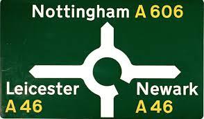 Primary route signage