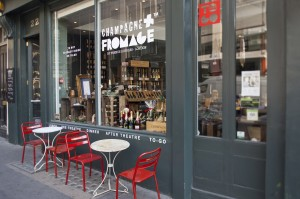 Champagne et Fromage, Wellington Street, London WC2