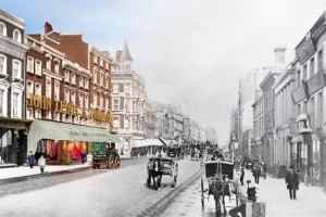 John Lewis on Oxford Street, London, a composite shot. © John Lewis