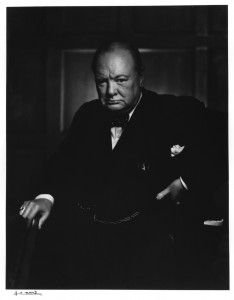 Winston Churchill by Yousuf Karsh, 1941 (c) Karsh / Camera Press