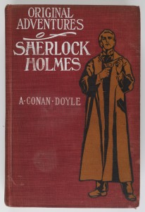 Sherlock Holmes cover from 1903, first edition, New York © Museum of London