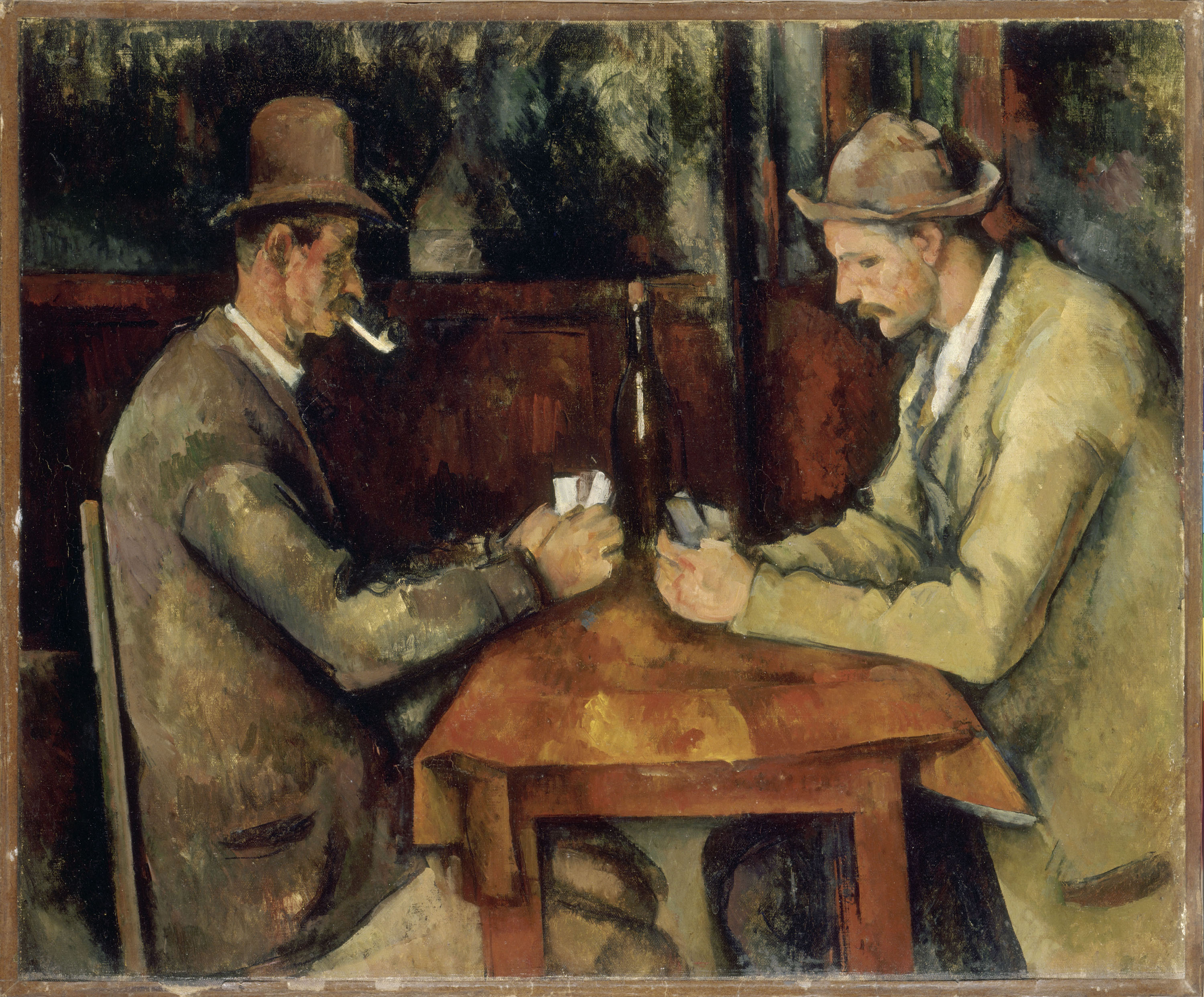 Cezanne The Card Players Courtauld Gallery London - Who painted the card players