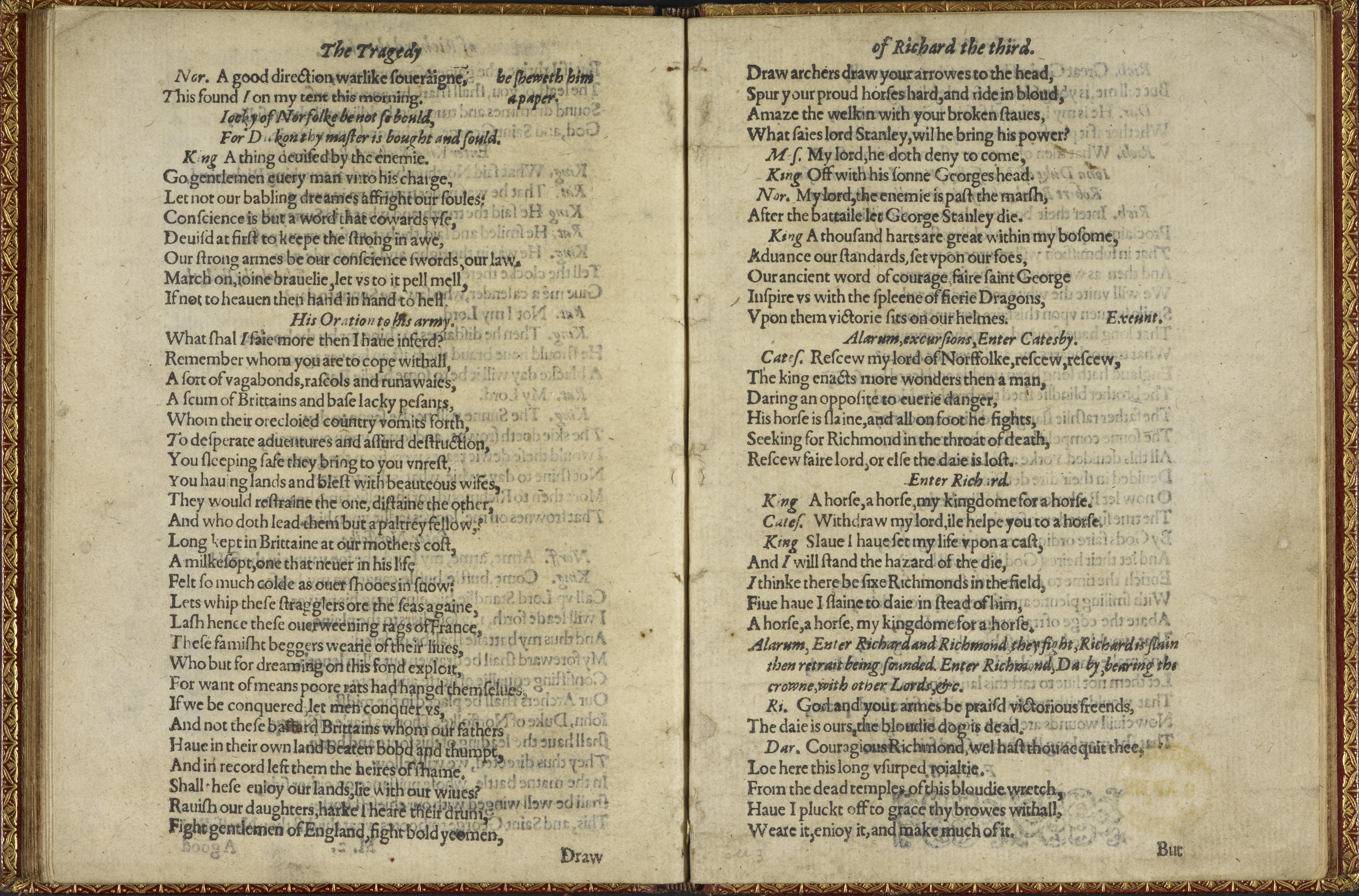 richard iii by william shakespeare essay Extracts from this document introduction richard iii- provide an exploration of how shakespeare presents appearance and reality within richard iii - a key theme.