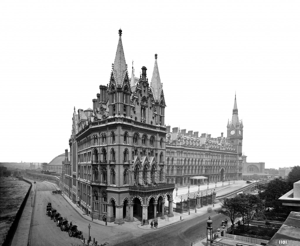 Midland Grand Hotel 1881 photographed by Bedford Lemere. Copyright National Mounuments Record/English Heritage.