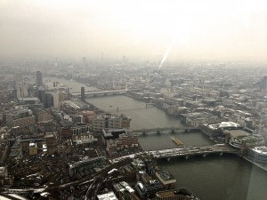 The Thames looking westward from The View from The Shard © Culture Voyage