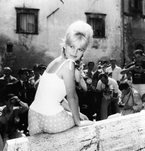 Brigitte Bardot in Spoleto, June 1961. MGMC & Solares Fondazione delle Arti.