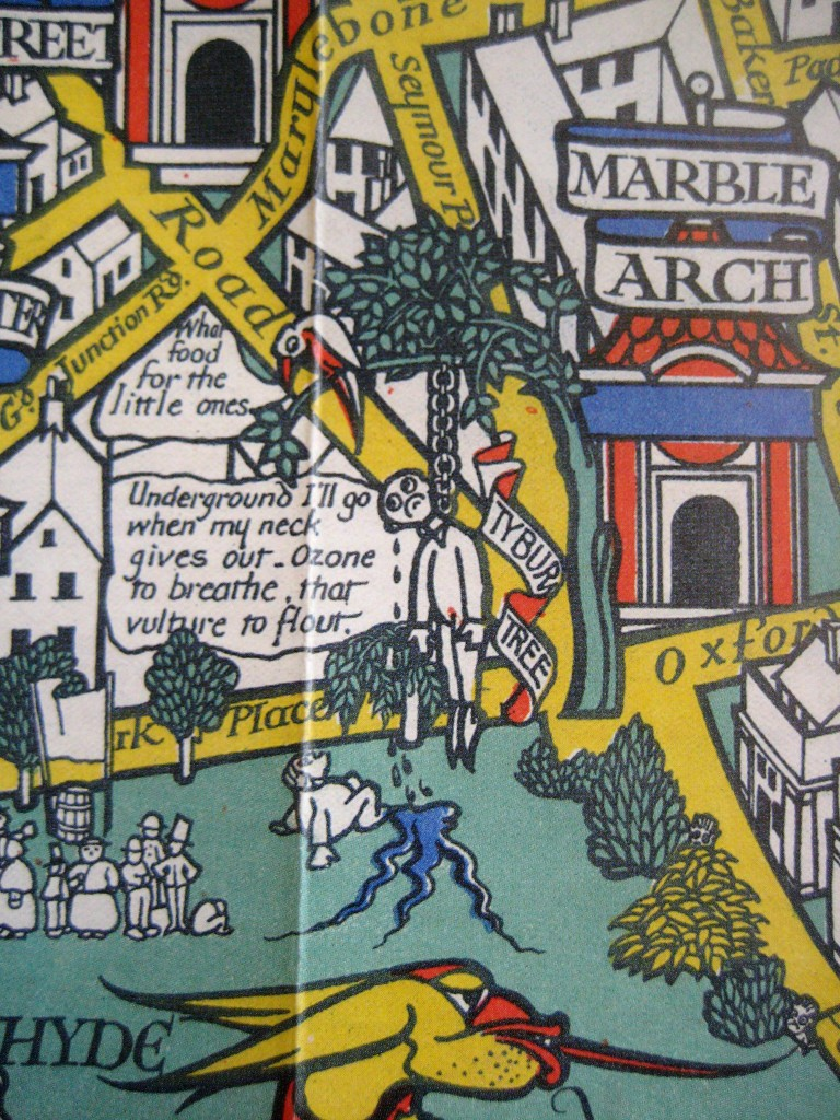 'Wonderground' map detail (1914) © Caroline Walker