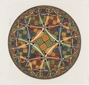 Circle Limit III, December 1959
