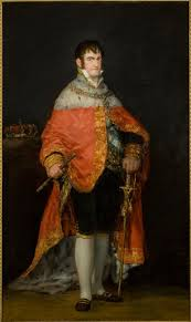 Ferdinanad VII of Spain by Goya