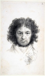 Francisco Goya, self-portrait, 1795