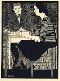 In Mesquita's Classroom, 1920-21