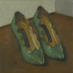 Miss Campbell's Shoes, David Inshaw, 2012, The Fine Arts Society