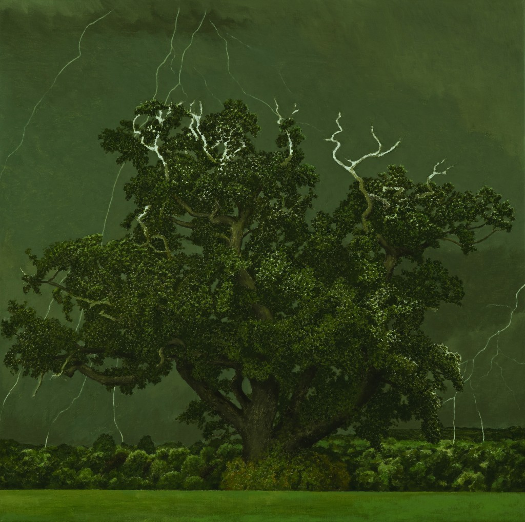 Oak Tree, David Inshaw, 2011. The Fine Arts Society