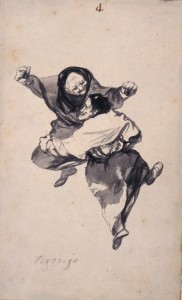 Mirth (Regozijo), Album D , page 4, c. 1819-23, New York, The Hispanic Society of America