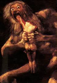 Saturn Devouring his Son, c. 1819-1823, Prado, Madrid