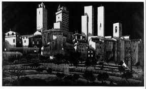 San Gimignano, February 1923