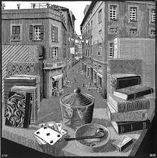Still Life and street, March 1937