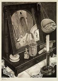 Still Life with Mirror, March 1934