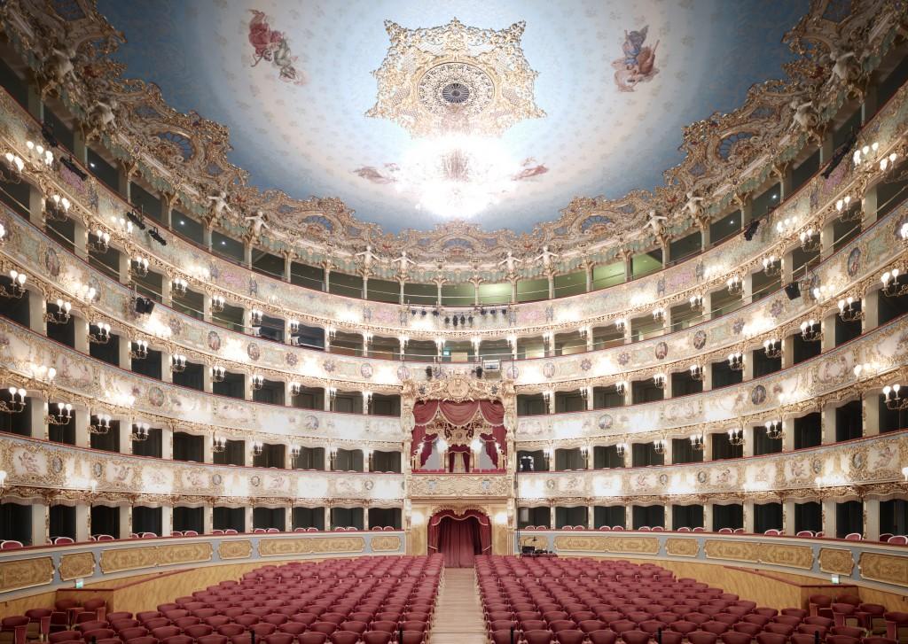 Teatro La Fenice Di Venice V 2011. © 2013 Candida Ho?fer, VG Bild-Kunst, Bonn. Courtesy of Ben Brown Fine Arts