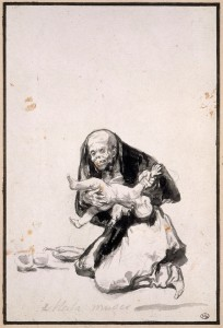 Wicked woman (Mala muger), c. 1819-23, Album D, page 12, Paris, Musée du Louvre