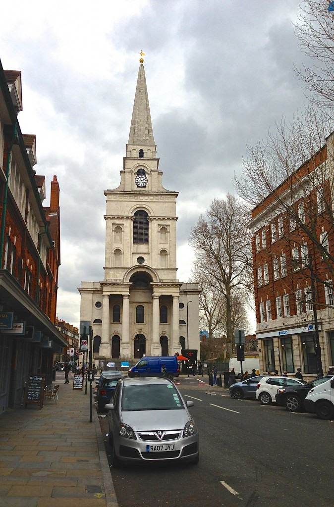 Christ Church, Spitalfields, London, Hawksmoor's masterpiece
