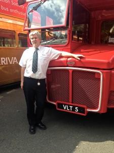 Joe Kerr and RM 5 in Finsbury Park