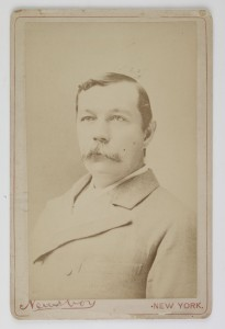 Carte de visite, 'Arthur Conan Doyle', New York, undated © Museum of London