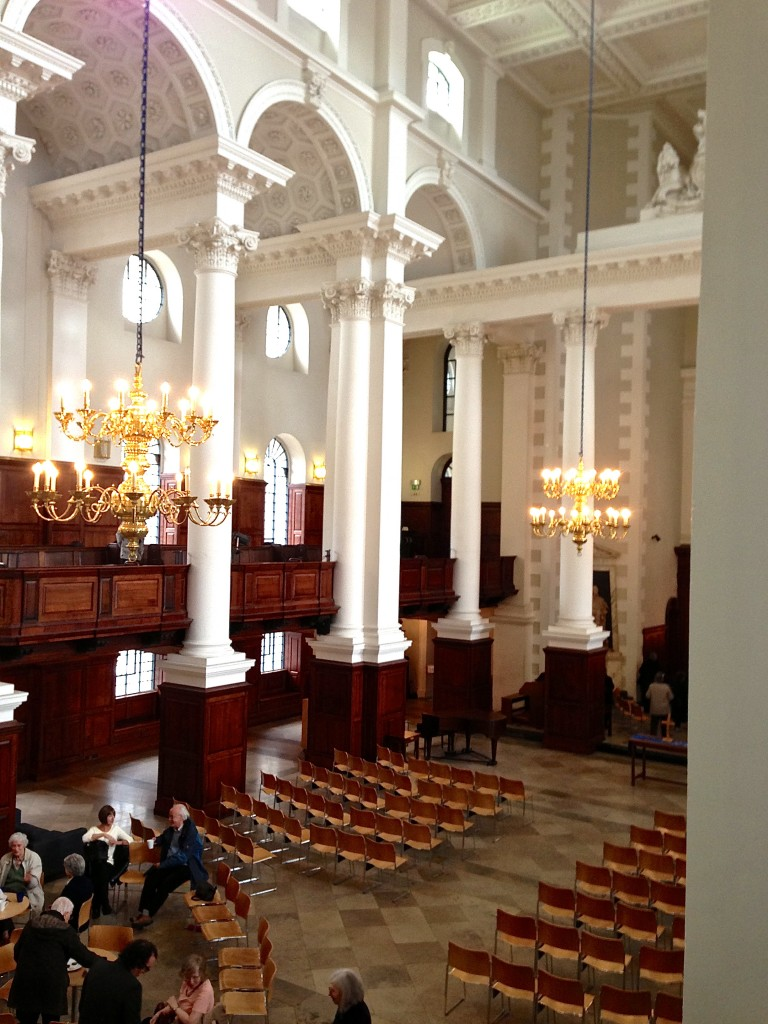 The magnificent interior of Christ Church